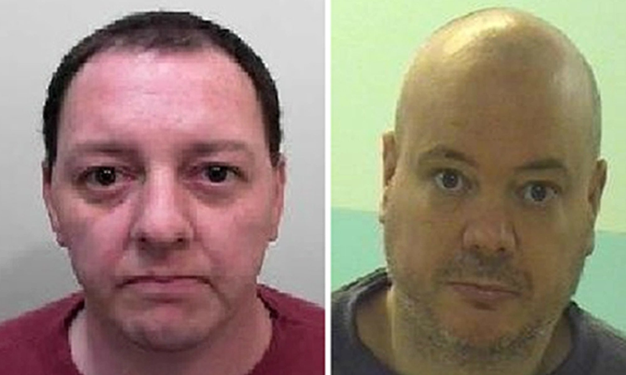 Christopher Addison and Scott Noon absconded last Thursday