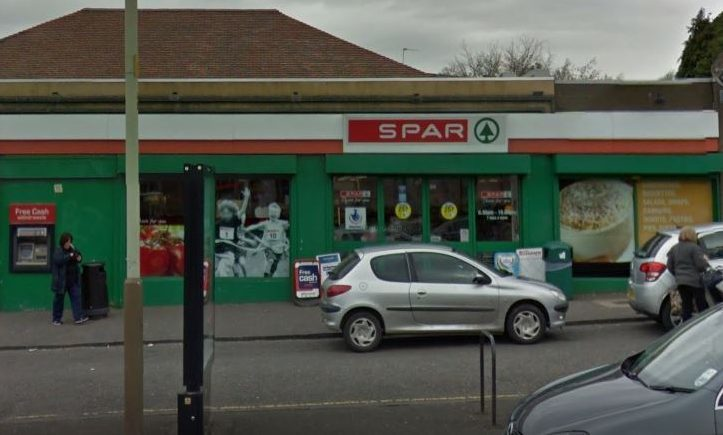 Spar in Glamis Road (stock image)