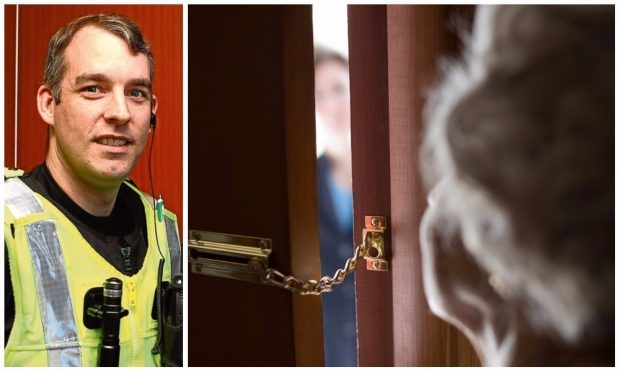 PC North has urged people to be vigilant against fraudulent cold callers.