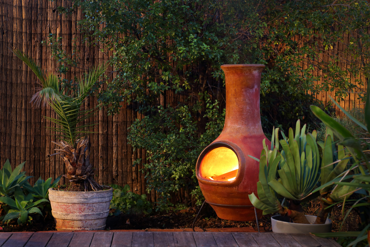 A garden chiminea. (library picture)