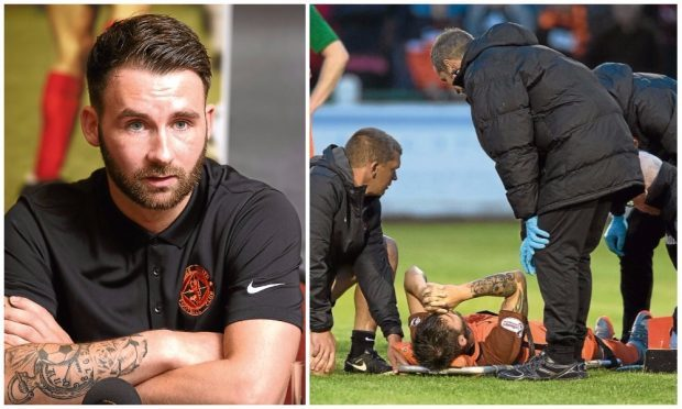 James Keatings could make a quick comeback from a serious injury.