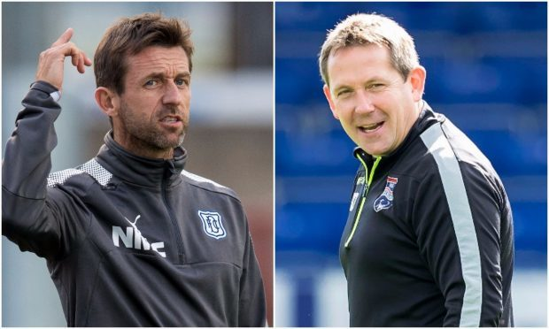"""""""Angry wee man"""" Neil McCann hopes to get one over on his old teammate Billy Dodds."""