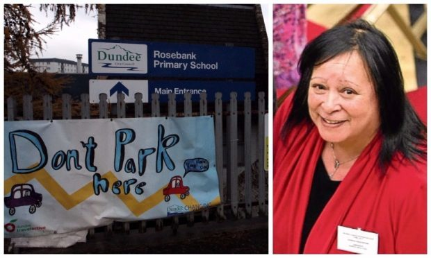Rosebank Primary is one of the schools still looking to fill a position and, right, Georgia Cruickshank