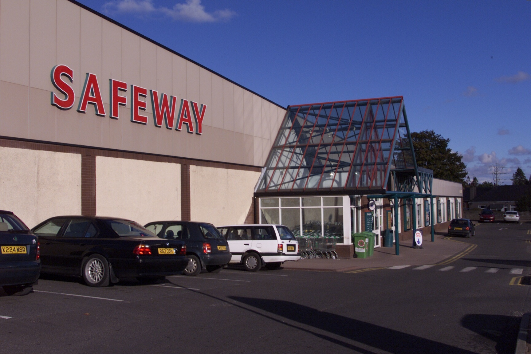 The former Safeway store on Dundee's Arbroath Road, which is now Aldi.