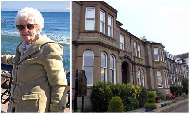 Alice Spratt, 86, who formerly resided at Orchar Nursing Home in Broughty Ferry's Beach Crescent.