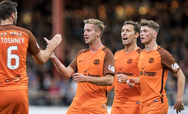United have struggled in front of goal but Lewis Toshney believes his side have the players to succeed.