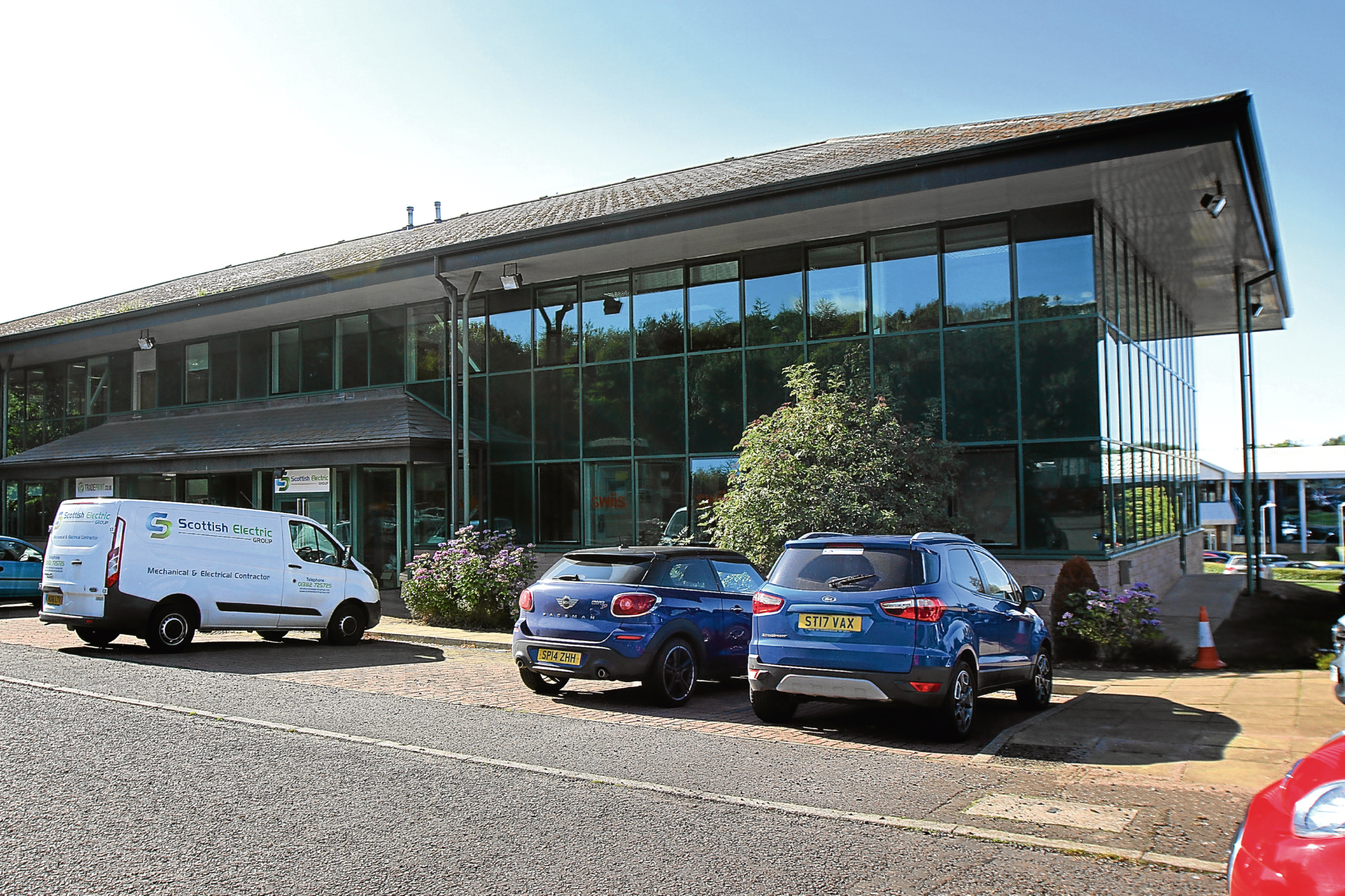 Scottish Electric Group based at Dundee Technology Park.