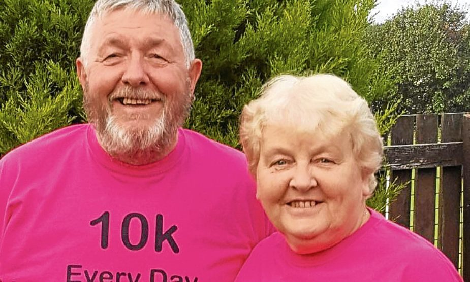 Jim and Margaret want to make their 10th year of fundraising their biggest yet.