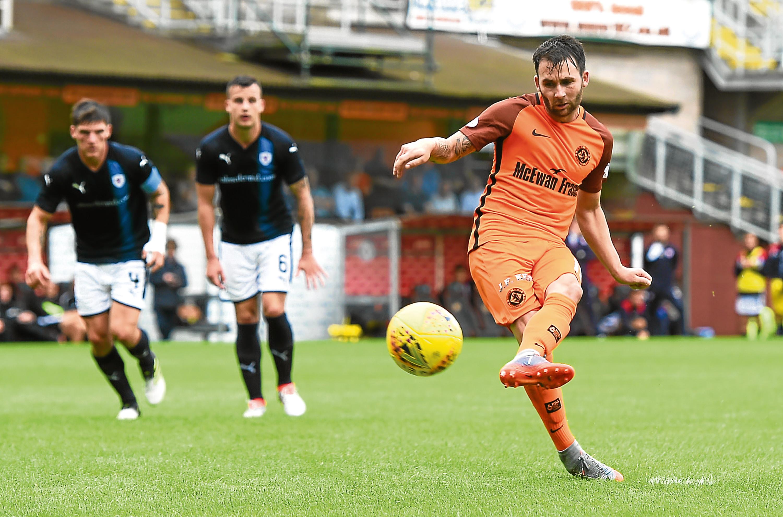 Dundee United striker James Keatings