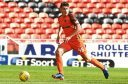 Dundee United new boy Joe Piggott made his debut against Alloa at the weekend