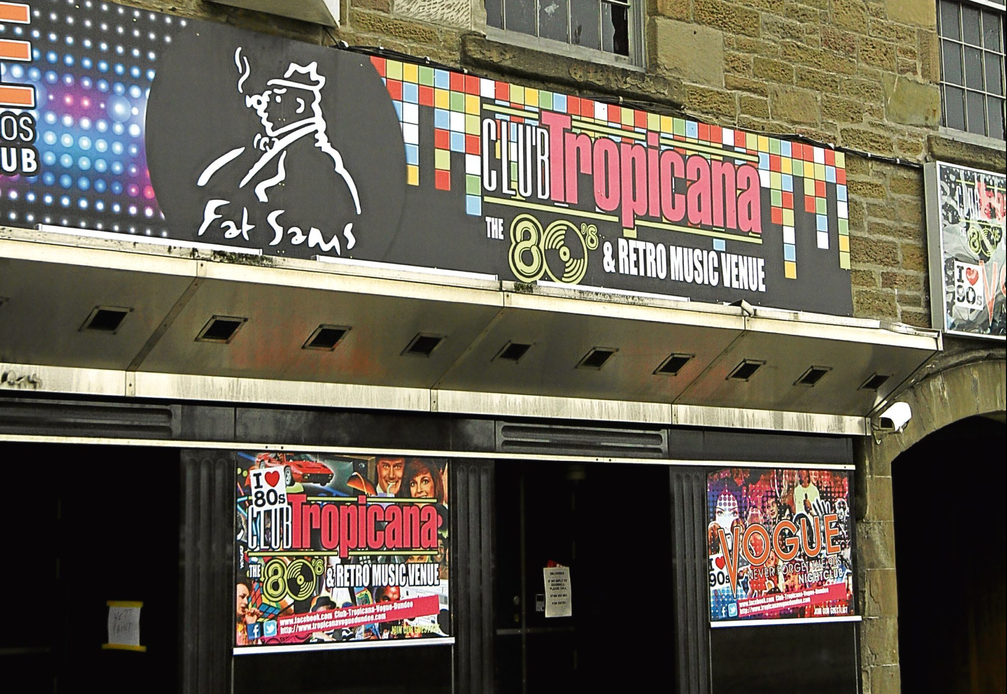 Club Tropicana in Dundee