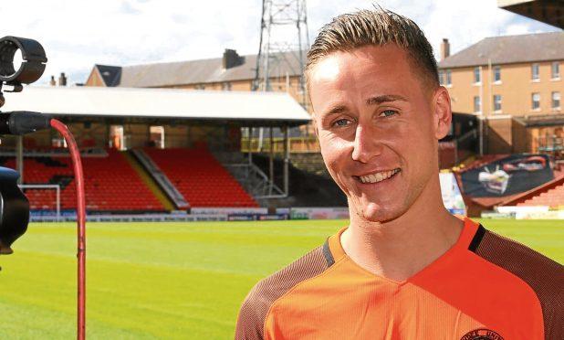 Dundee United midfielder Jodie Briels
