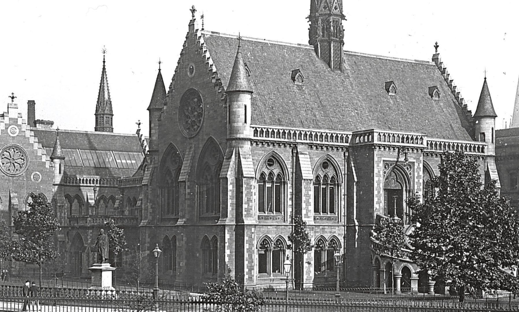The iconic building opened as the Albert Institute in 1867