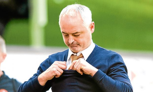 The Tangerines manager Ray McKinnon