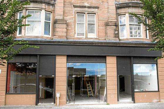Plans have been lodged to convert the former shop into two new units