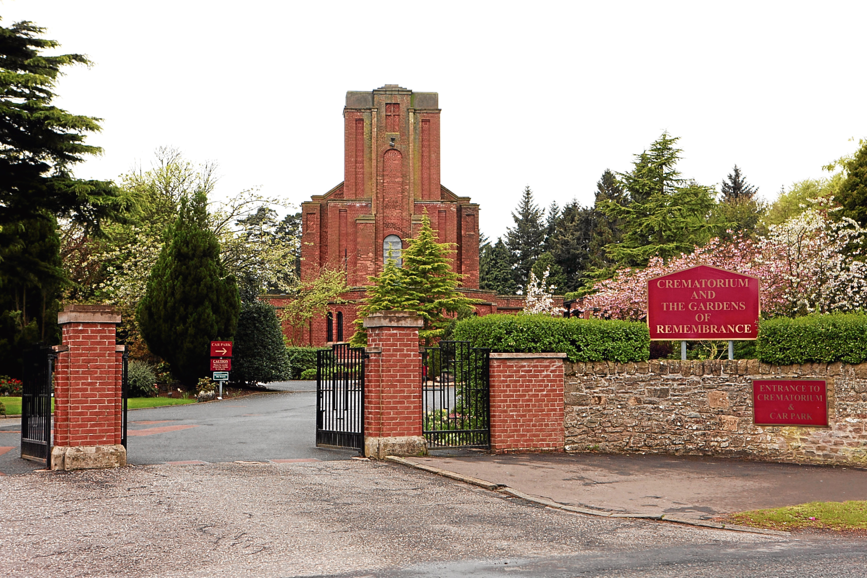 Dundee Crematorium, where many city funerals are held