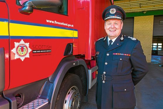 Fire Chief Alasdair Hay
