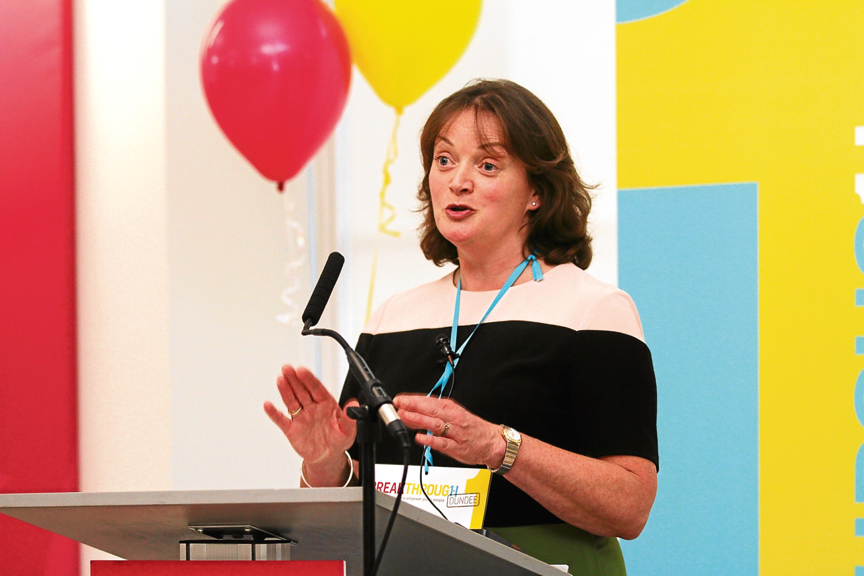 BREAKTHROUGH Dundee CEO Susan Duncan