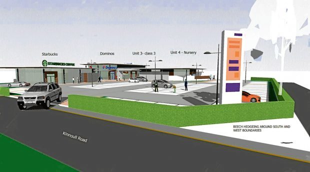 An artist's impression of how the development will look.