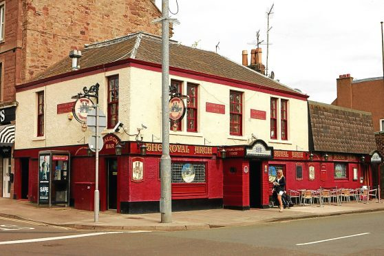 The Royal Arch pub on Brook Street