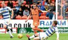 Paul McMullan played his part in a good display as United beat Morton 2-1