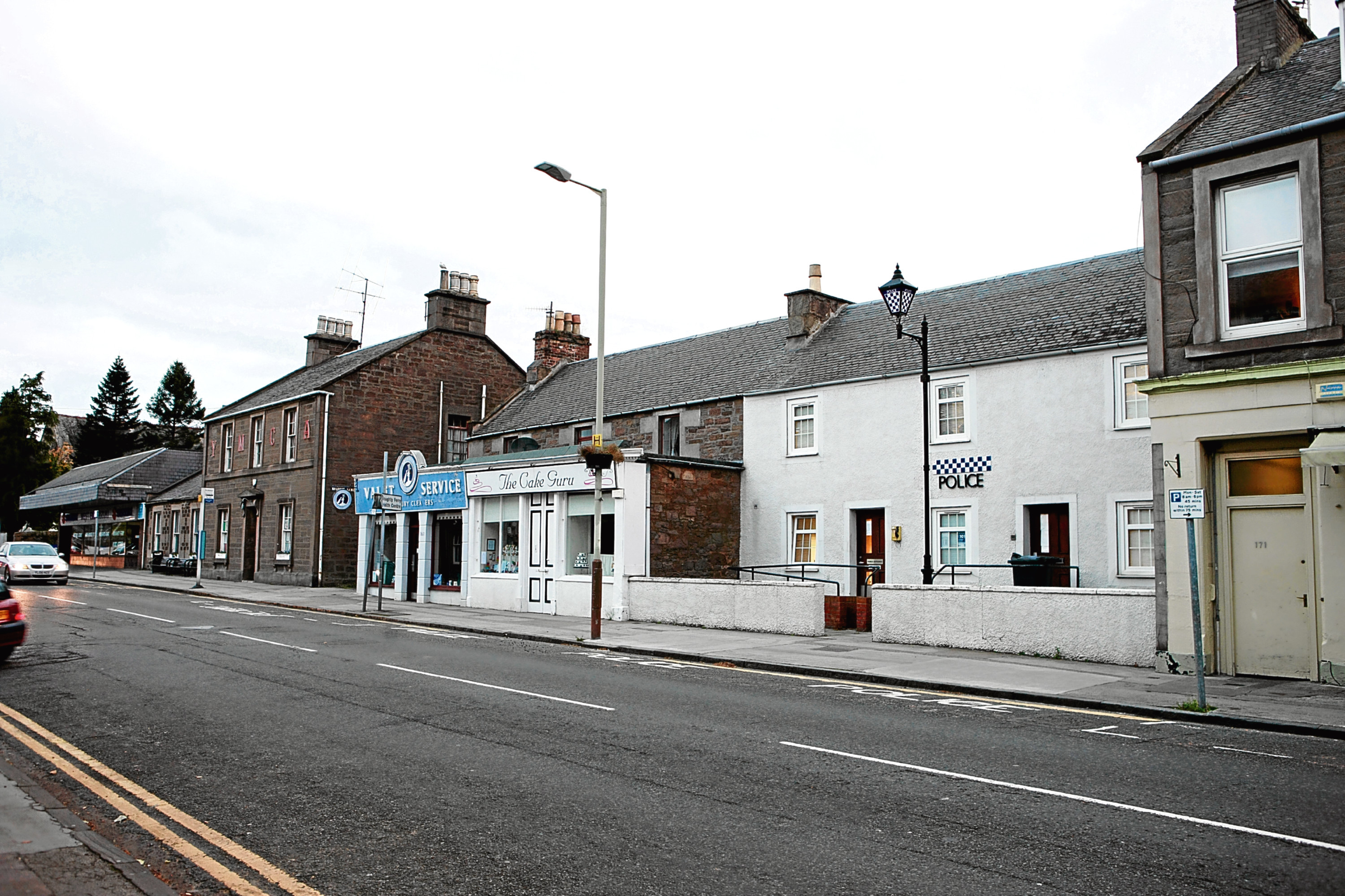 The Broughty Ferry police station could soon be sold off.