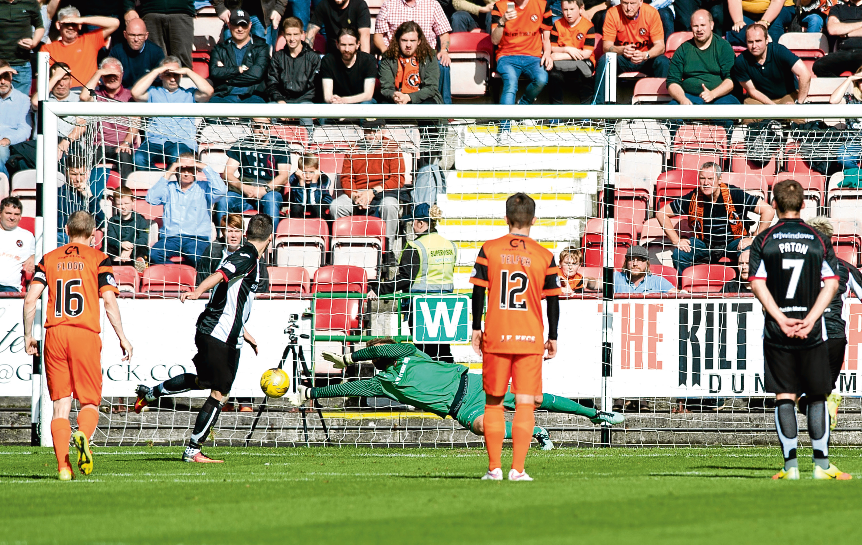 Cammy Bell was the hero of the day just over a year ago as the Dundee United keeper's three penalty saves helped his side to a memorable 2-1 win against Championship rivals Dunfermline.