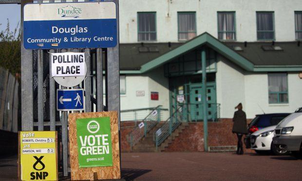 Douglas Community Centre on election day