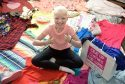 Lily Douglas who is fighting a rare form of cancer