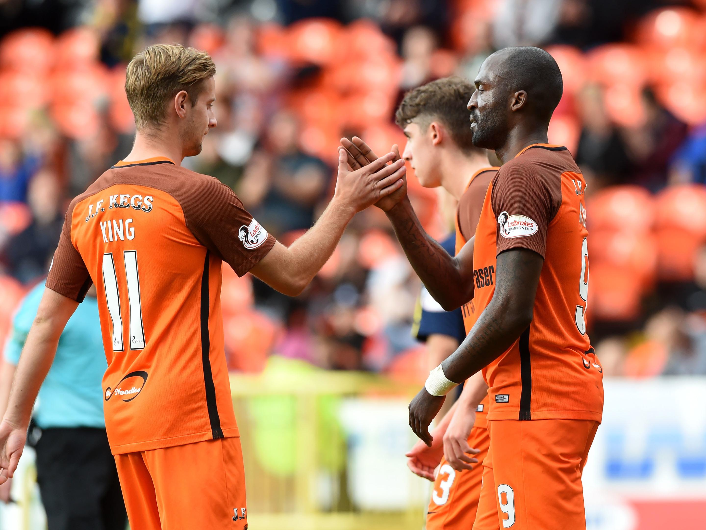 Patrick N'Koyi opened the scoring as Dundee United beat Alloa 3-1.