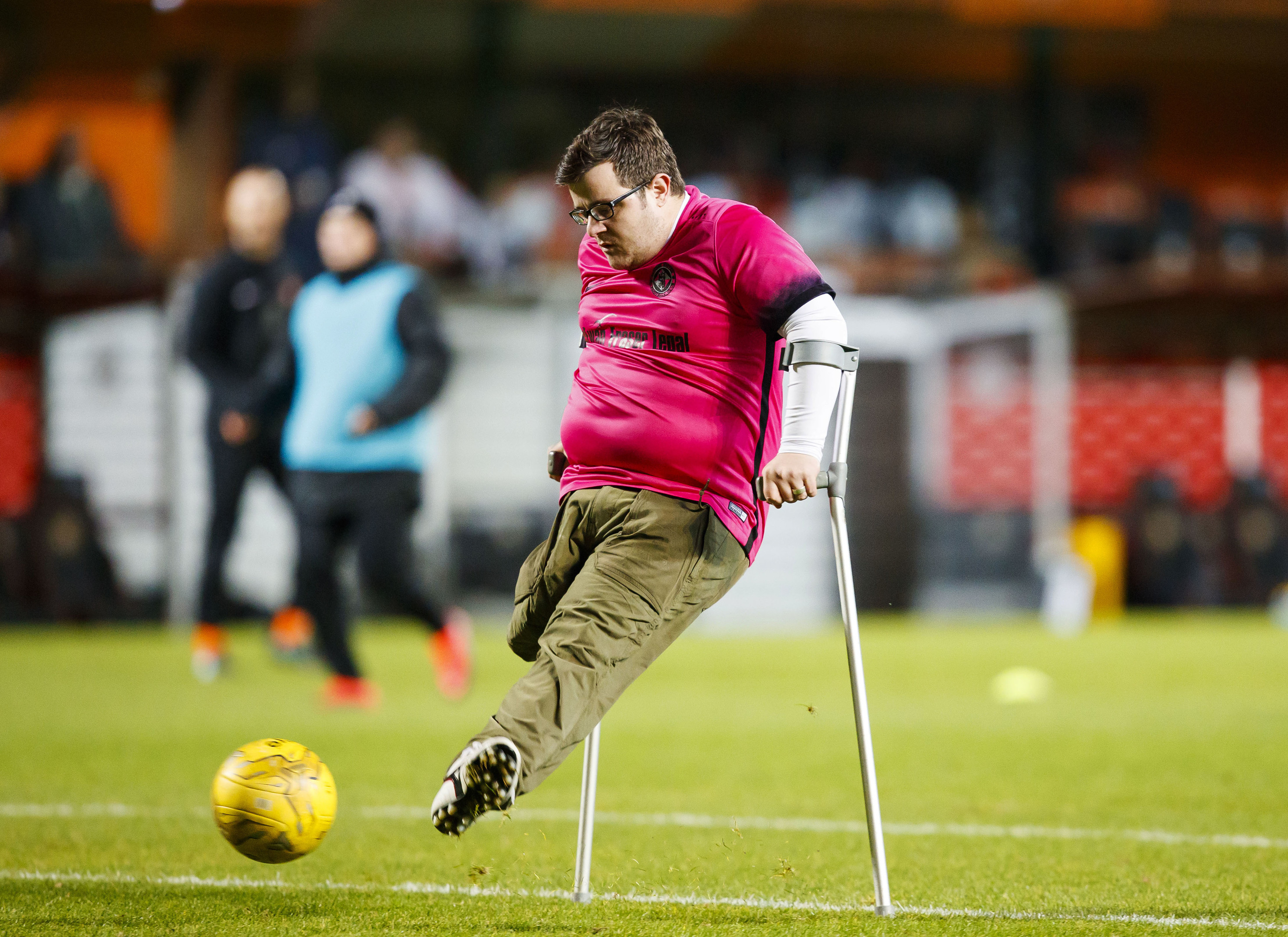 Tommy McKay in action