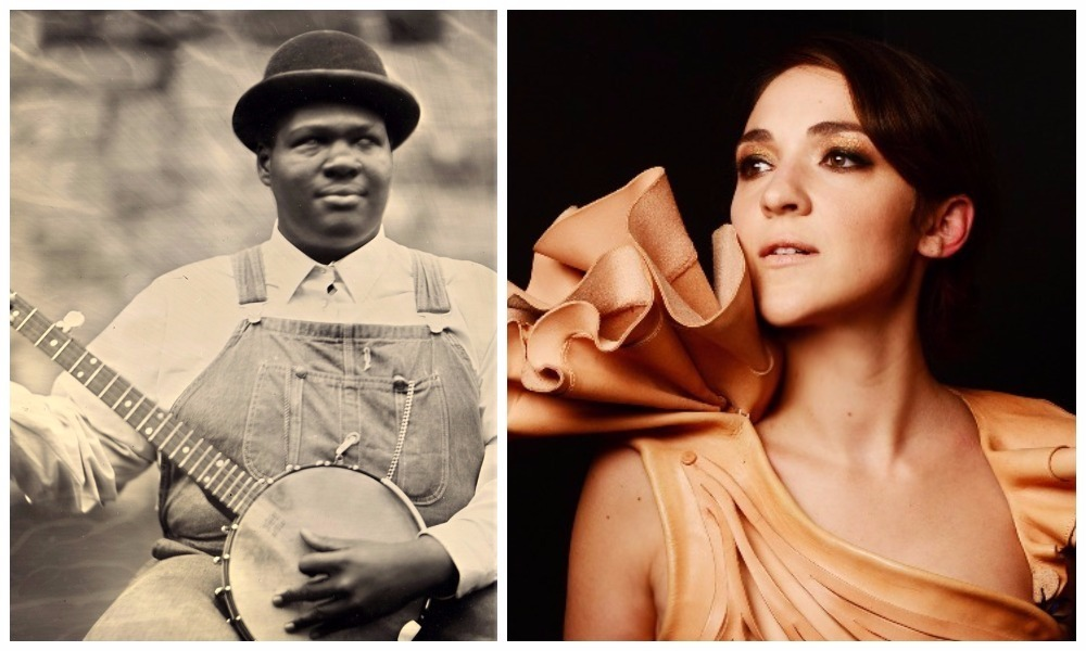 "Jerron ""Blind Boy"" Paxton (left) will play his first-ever Scottish show and (right) Becca Stevens."