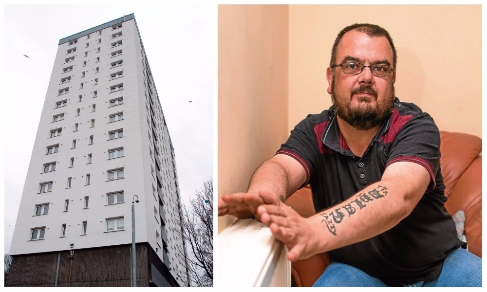 Paul Kinsella is one Dallfield Court resident to have benefited from the scheme.