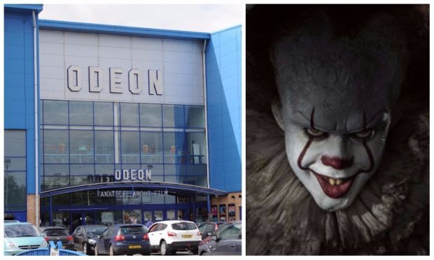 The incident happened after a screening of It at the Odeon.
