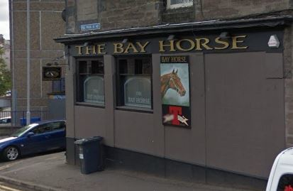 The Bay Horse Bar. (stock image).
