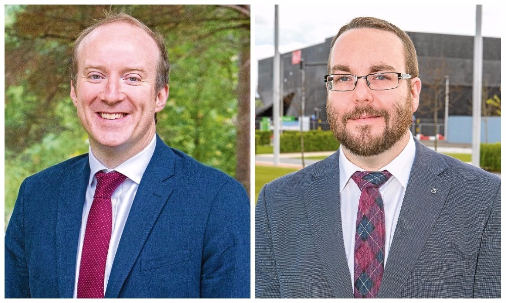 """Councillor Michael Murray (left) has accused Children and Family Services convener of """"rank complacency""""."""