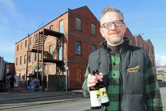 71 Brewing's Duncan Alexander.