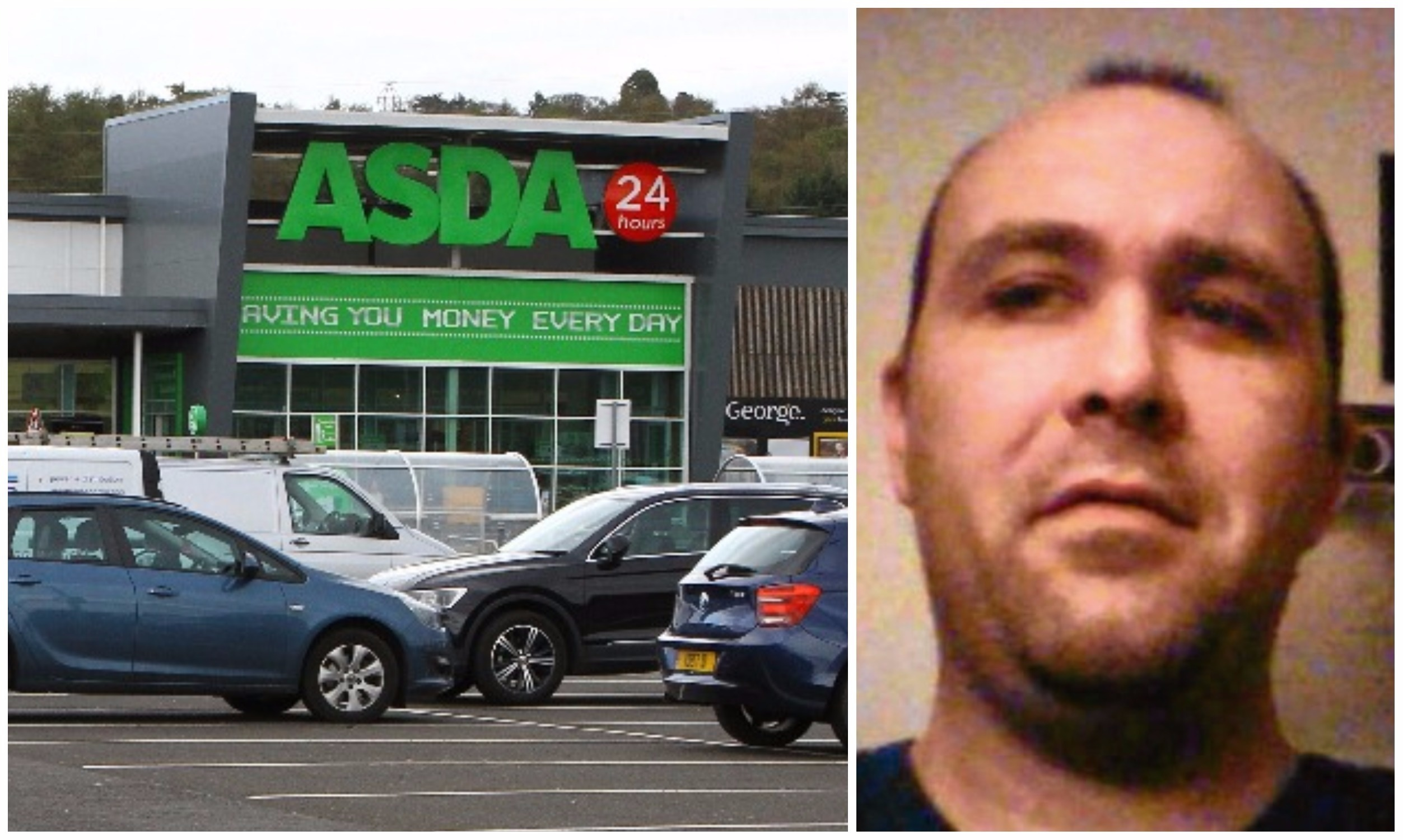 Christopher Traynor threatened staff at Asda Myrekirk