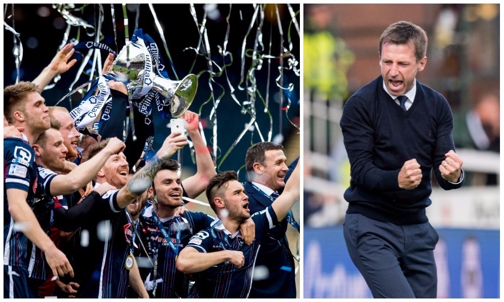 """Ross County won the 2016 League Cup with a 2-1 win over Hibs. Neil McCann says there's """"no reason why"""" his side can't do the same."""