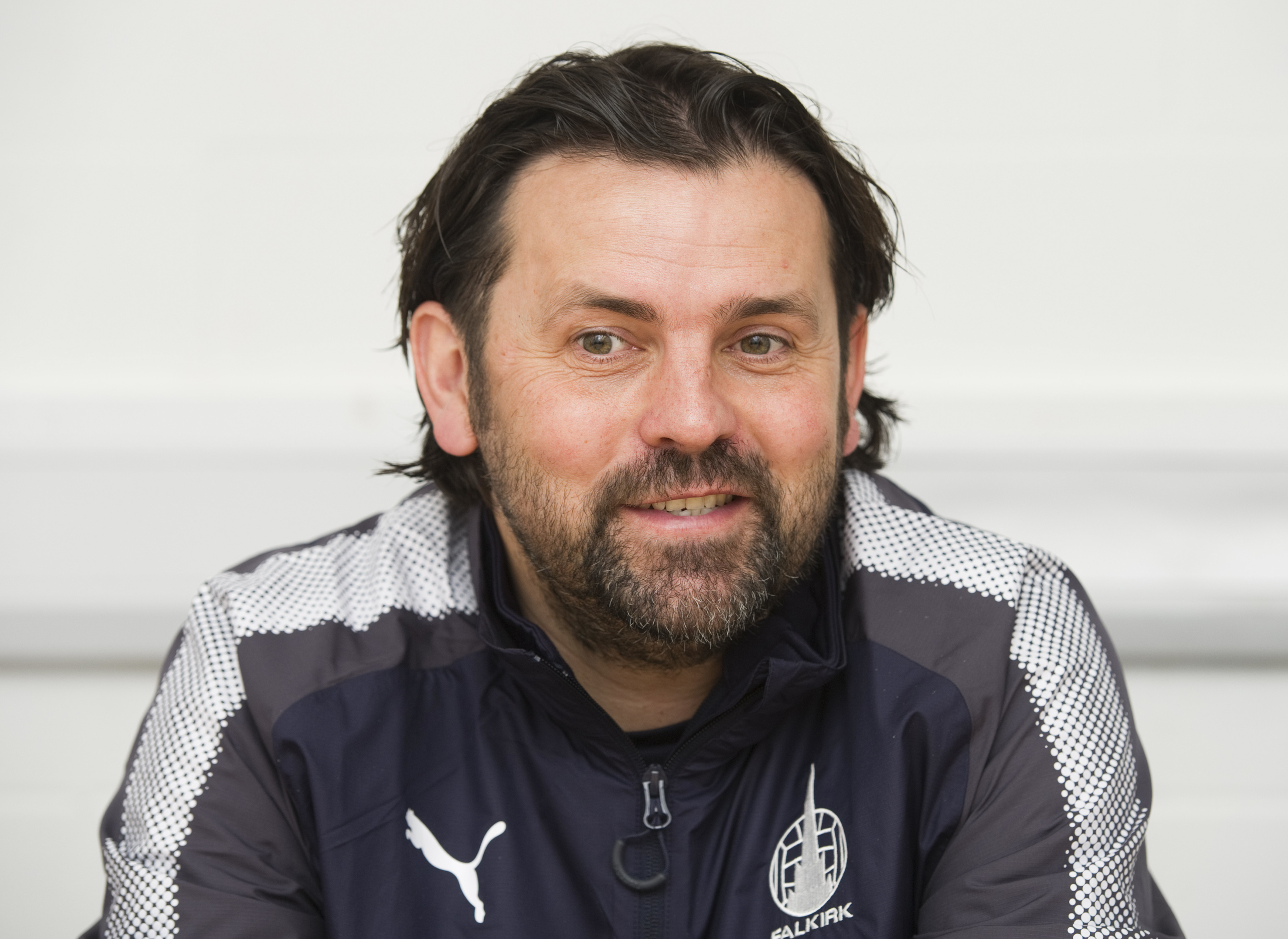 Falkirk manager Paul Hartley