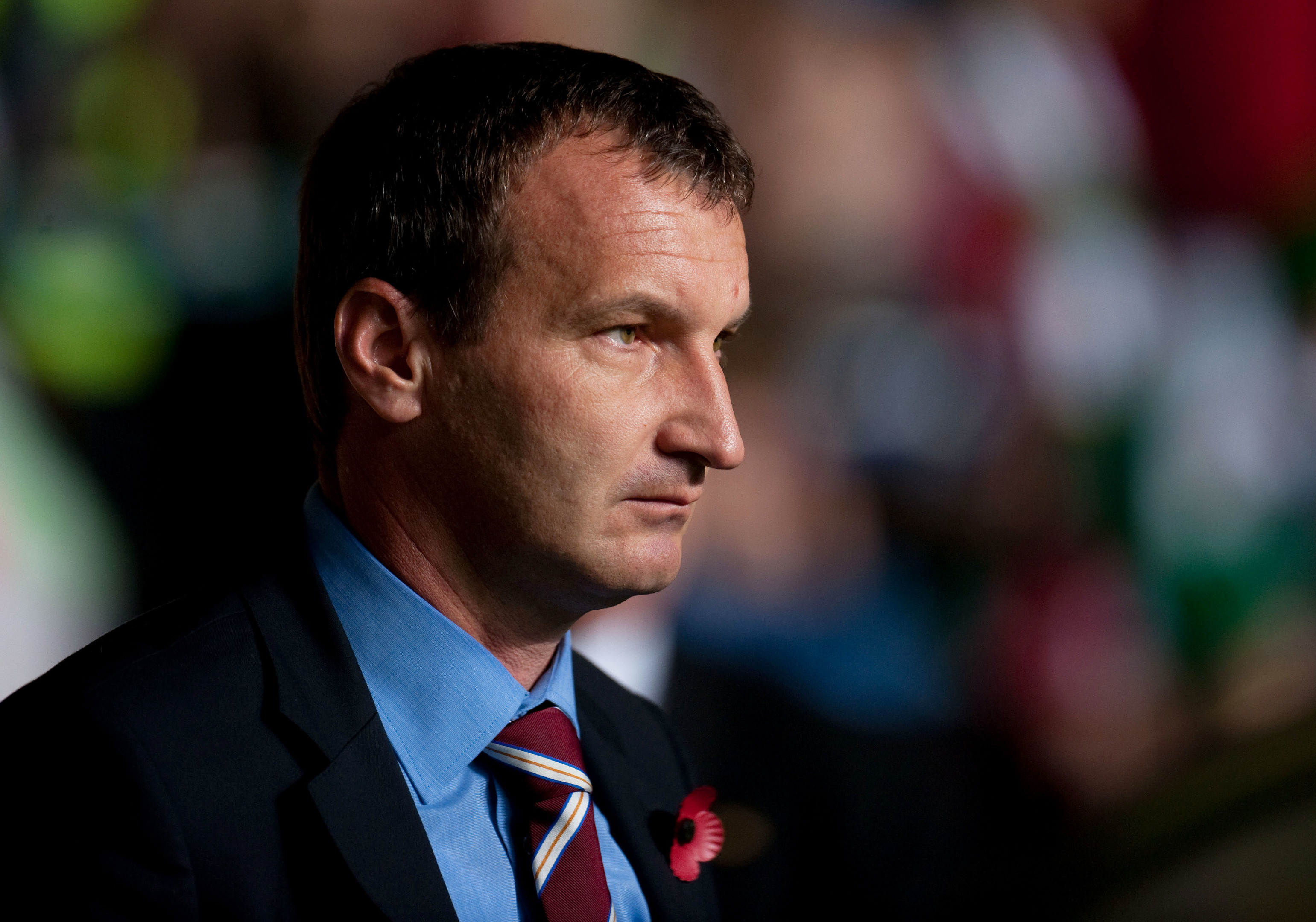 Csaba Laszlo was Hearts manager from 2008 to 2010
