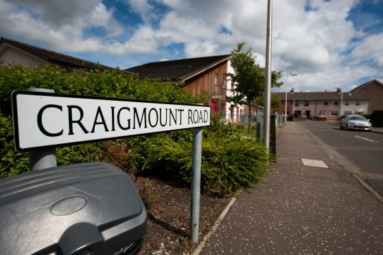 The incident is alleged to have happened on the city's Craigmount Road (Stock image).