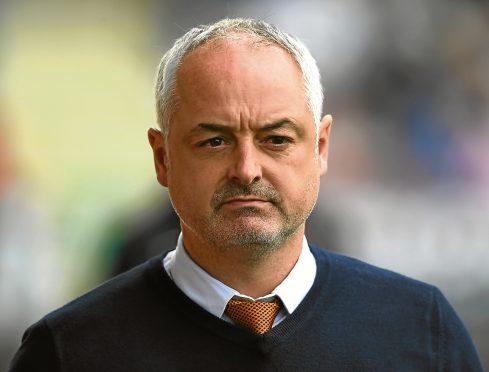 Dundee united boss Ray McKinnon