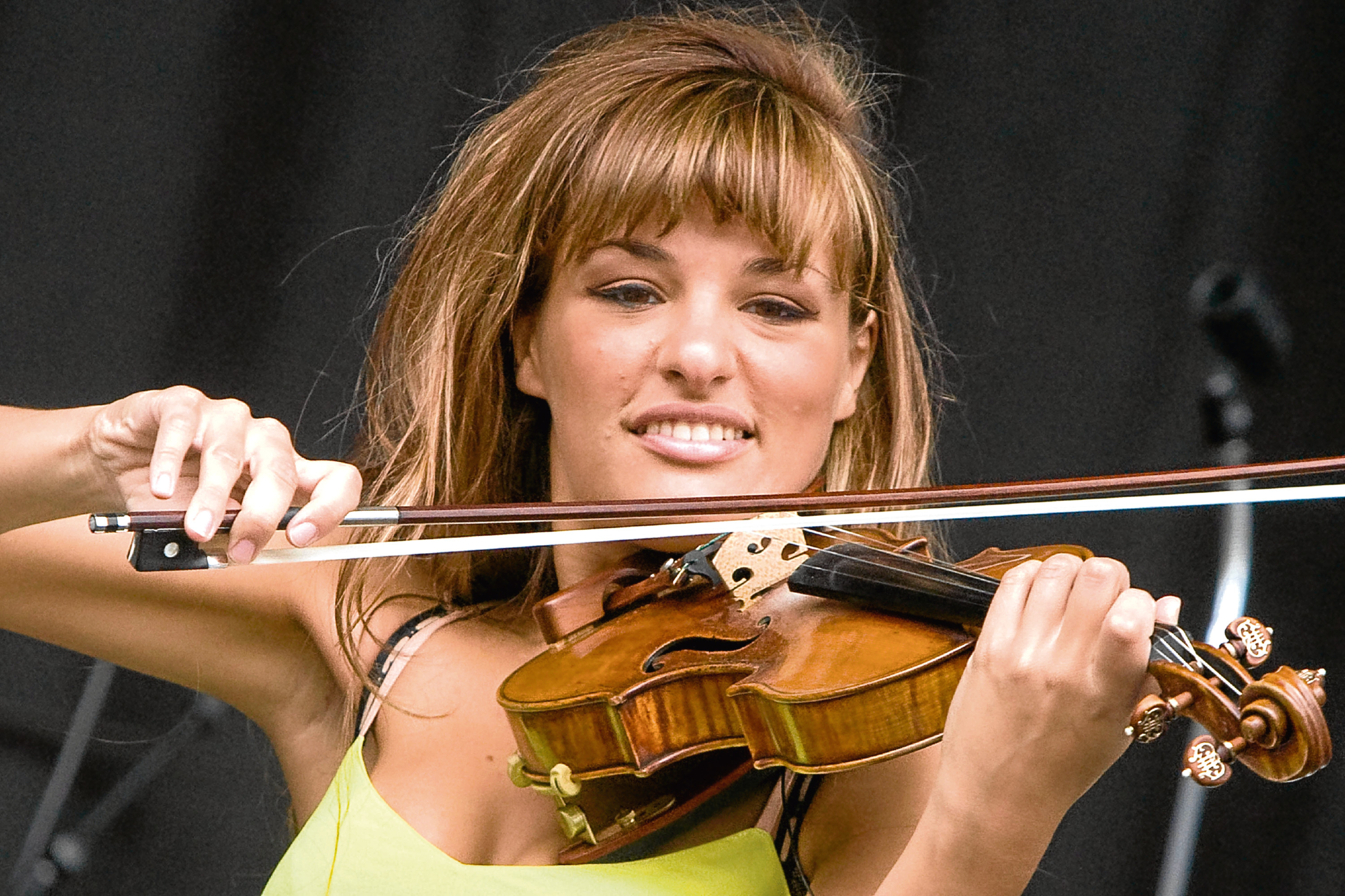 Nicola Benedetti was one of the artists due to perform at this year's festival