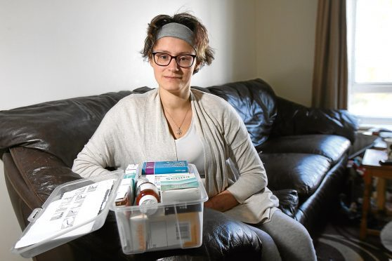 Shona Grant has spoken of her battle with diabetes.