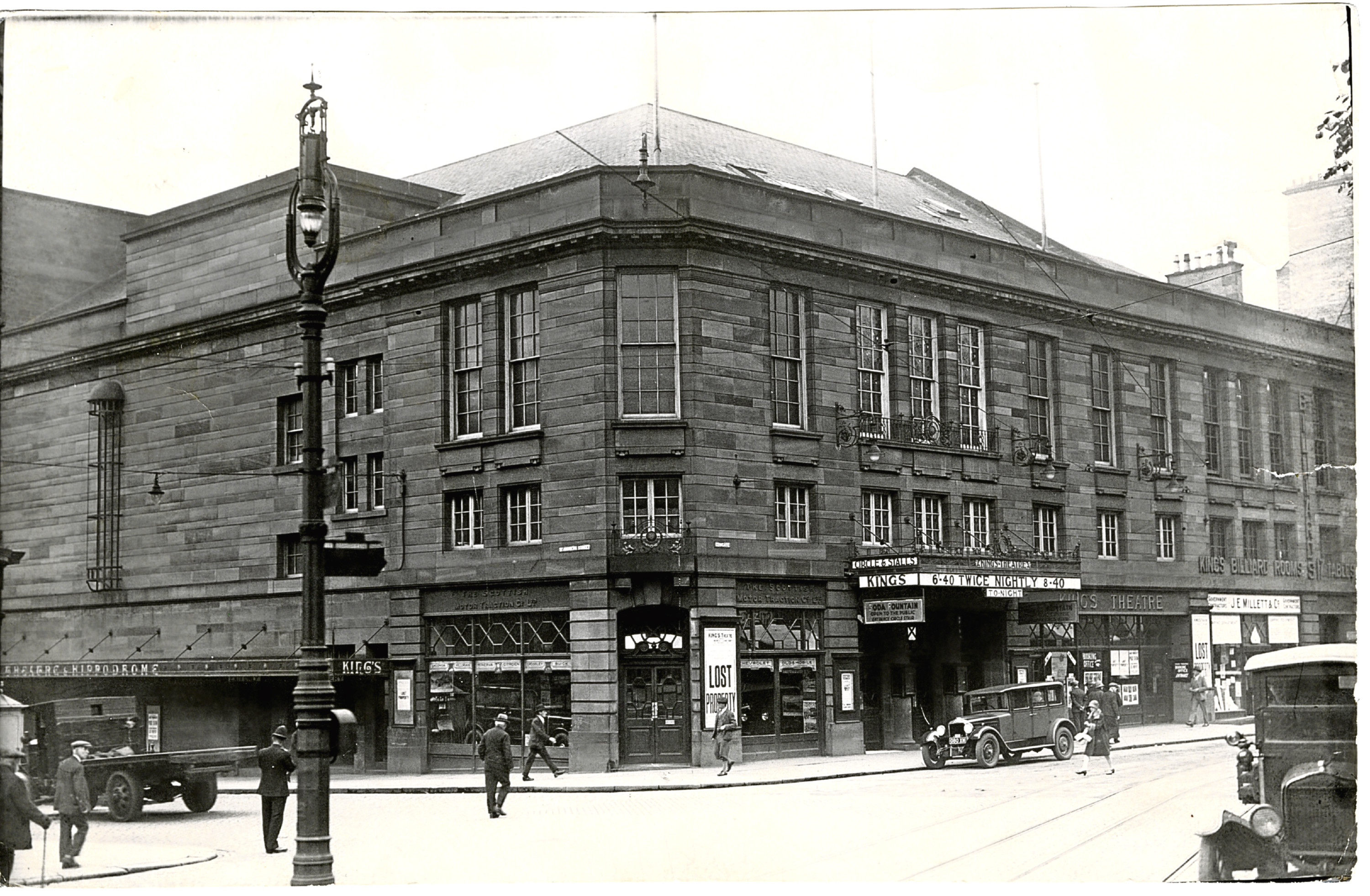 The King's Theatre in its 1925 heyday.