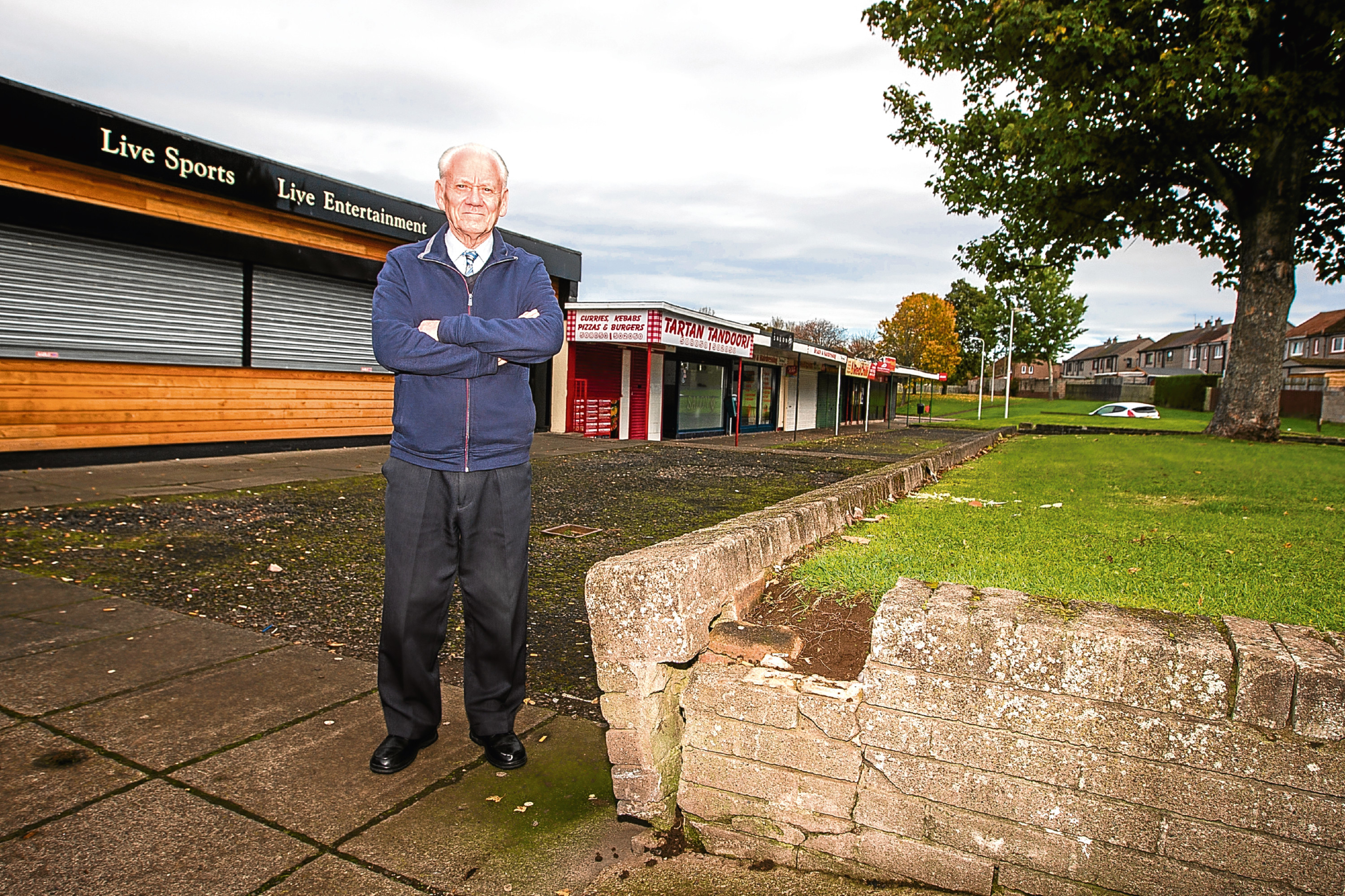 Ron Neave of Fintry Community Council