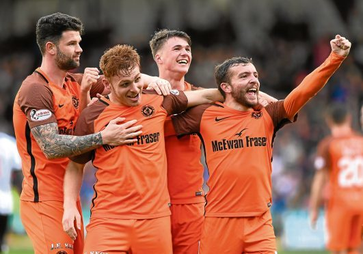 Dundee United could revert back to the line-up which saw off Dunfermline 3-1 in the Championship a fortnight ago.