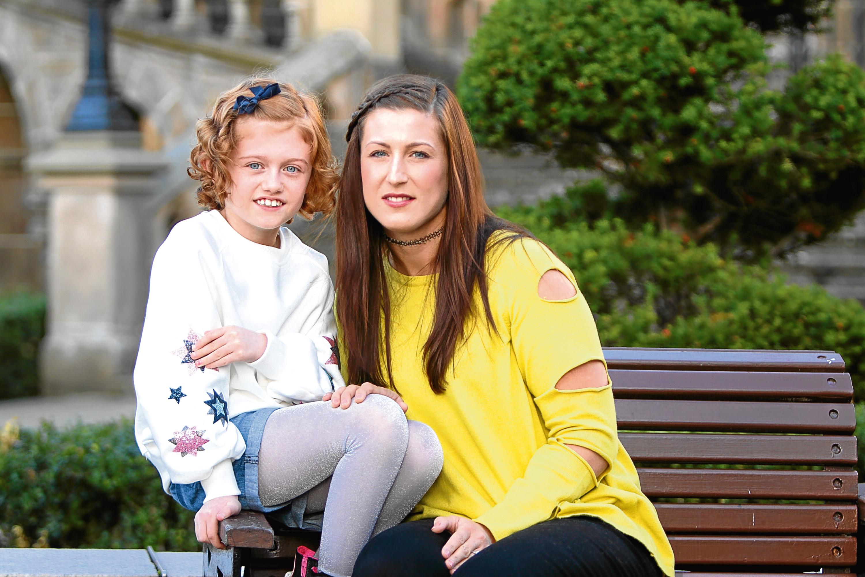 Faye Shilcock and her daughter, Summer-Rose