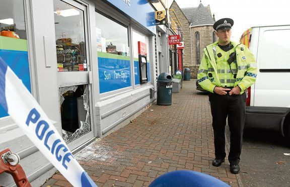 He is accused of breaking into Scotmid, Main Street, Invergowrie, on October 18, and stealing cash, alcohol and tobacco